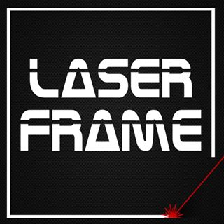 Subscribe - Laser Frame Floating Logo