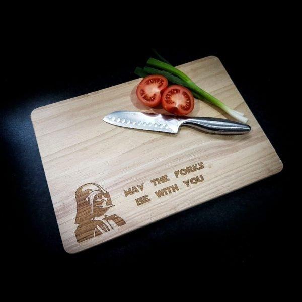 DV Forks chopping board
