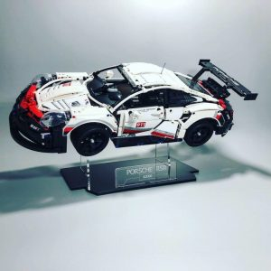 Acrylic Display Stand For LEGO Porsche  RSR