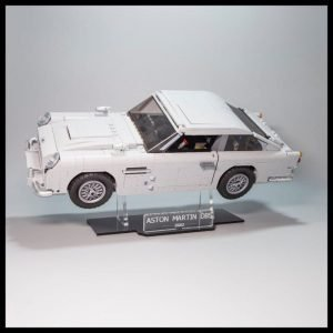 Acrylic Display Stand For The Aston Martin DB LEGO Model
