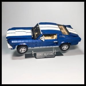 Acrylic Display Stand For The LEGO Ford Mustang Model