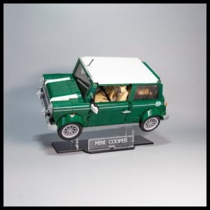 Acrylic Display Stand For The LEGO Mini Cooper Model