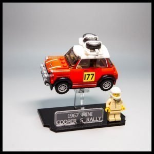 Acrylic Display Stand For The LEGO Speed Champions