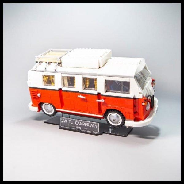 Acrylic Display Stand For The LEGO Volkswagen T Camper Van