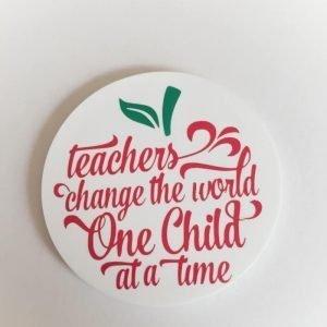 Acrylic Teacher Coaster