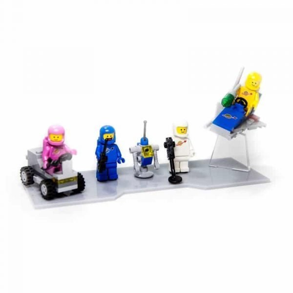 Bennys Space Squad Acrylic Display Stand For LEGO Movie