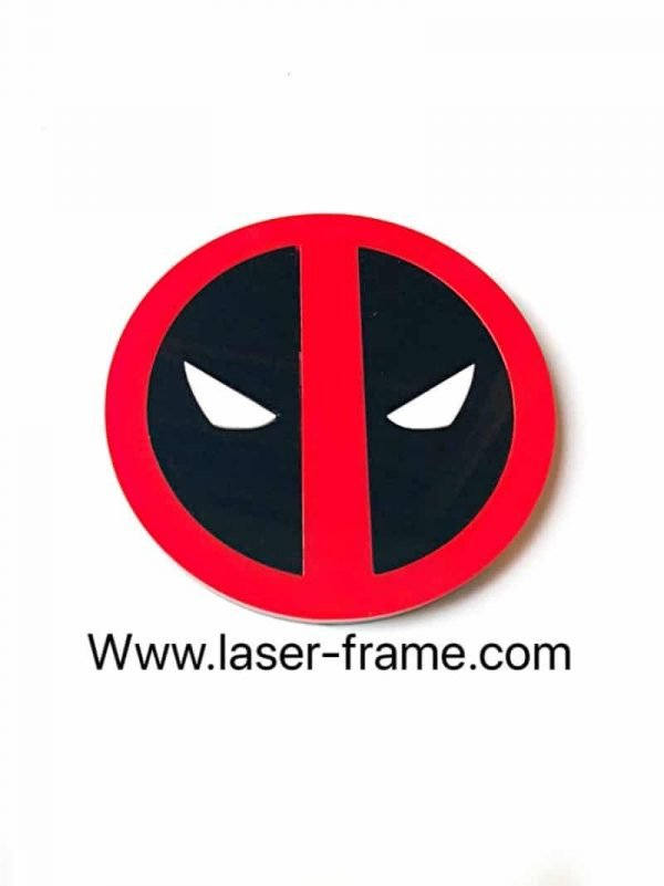Deadpool Acrylic Comic Coaster