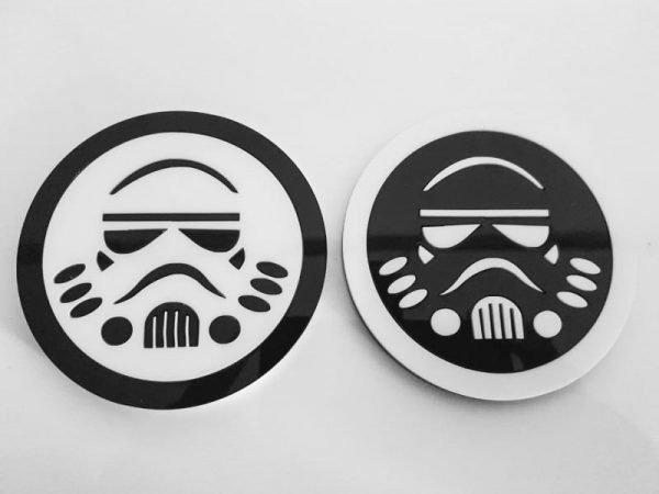 Silhouette Acrylic Coasters