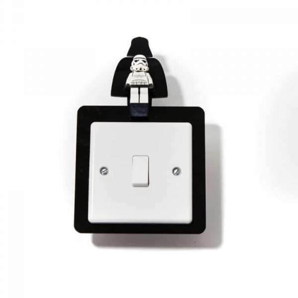 Star Wars And Batman Figure Light Switch Surrounds