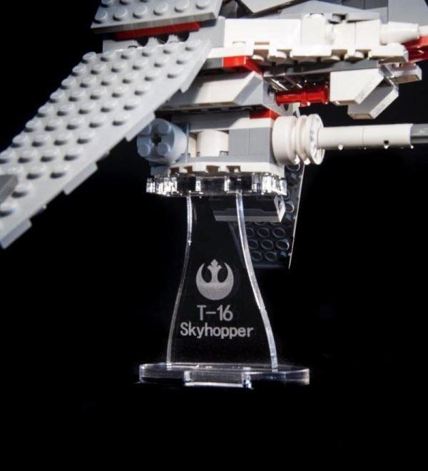 T  Skyhopper  Acrylic Display Stand