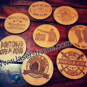 The Walking Dead Coasters
