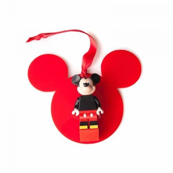 christmas disney mickey bauble