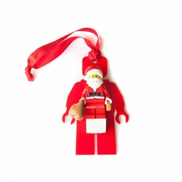 christmas minifigure tree decoration