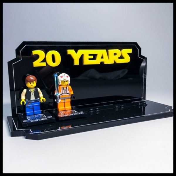 Acrylic Display Stand For LEGO th Anniversary Minifigures