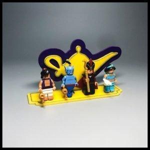 Acrylic Display Stand For LEGO Aladdin Minifigures