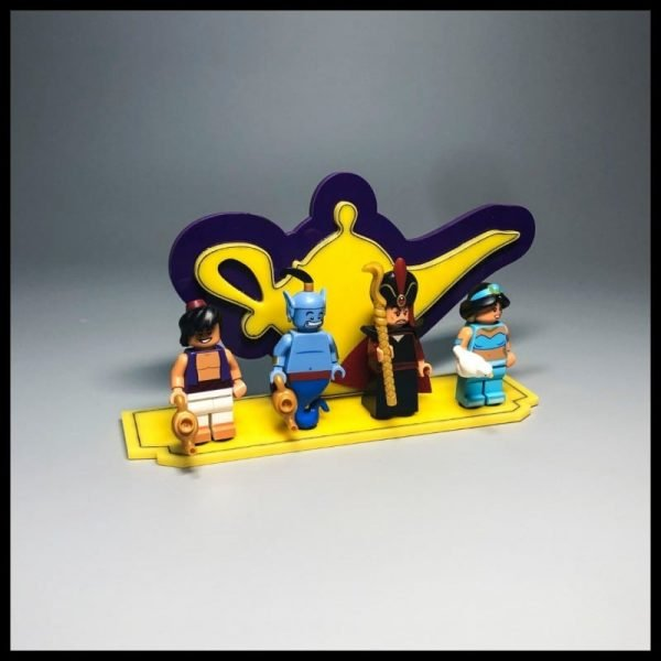 Acrylic Display Stand For LEGO Aladdin Minifigures