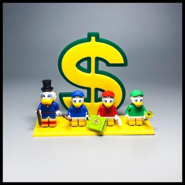 Acrylic Display Stand For LEGO Disney Series  Ducks Minifigures
