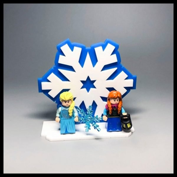 Acrylic Display Stand For LEGO Disney Series  Frozen Minifigures