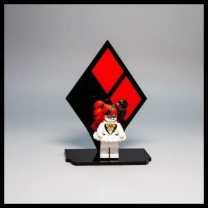 Acrylic Display Stand For LEGO Harley Quinn Minifigure