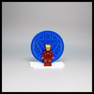 Acrylic Display Stand For LEGO Iron Man Minifigure