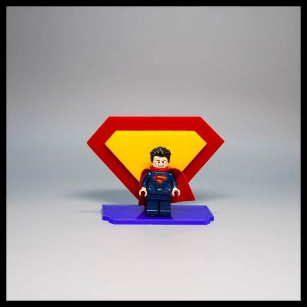Acrylic Display Stand For LEGO Superman Minifigure