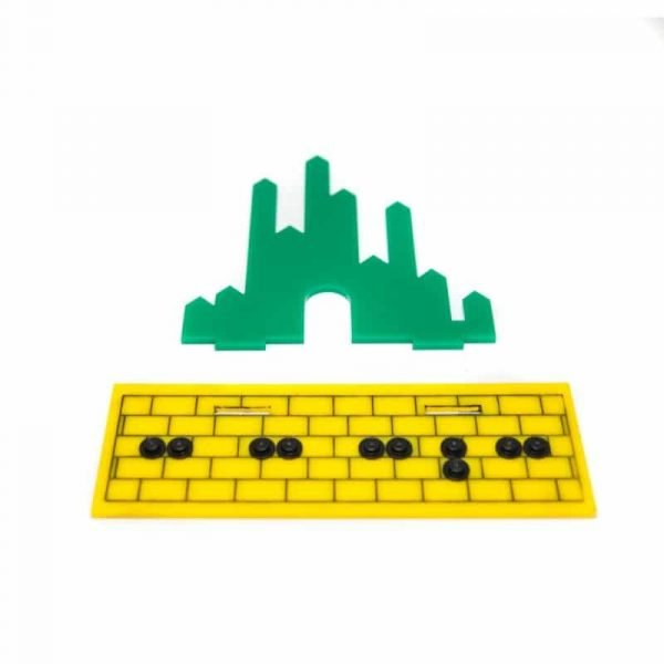 Acrylic Display Stand For The Wizard Of OZ LEGO Minifigures