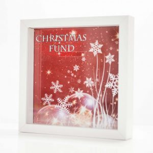 Christmas Fund Money Box Frame