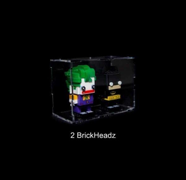 Display Case For  Brickheadz