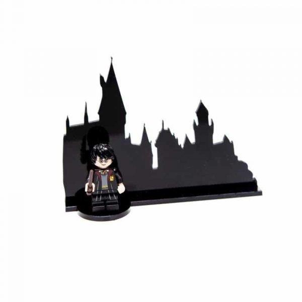 Hogwarts Silhouette Acrylic Skyline Stand