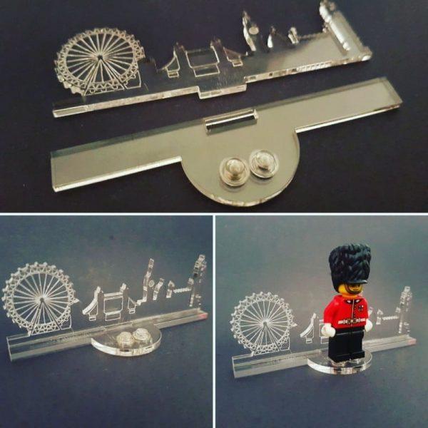 London Acrylic Skyline Stand