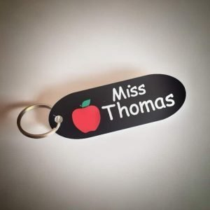 Personalised Teacher Keyring