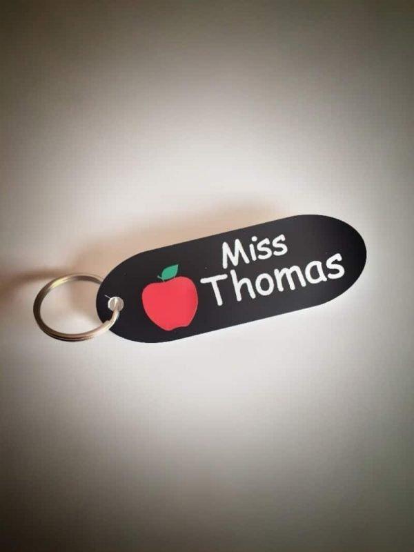 Personalised Teacher Keyring