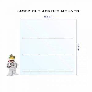 Slot mm Acrylic Mount And Print Choice No Bricks And No Glue