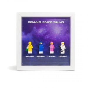 Acrylic Frame Insert For LEGO Benny's Space Squad Minifigures