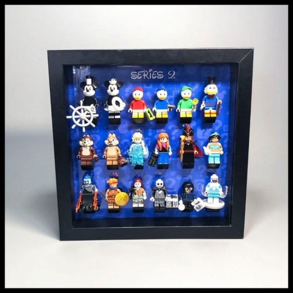 Acrylic Frame Insert For LEGO Disney Series  Minifigures Blue