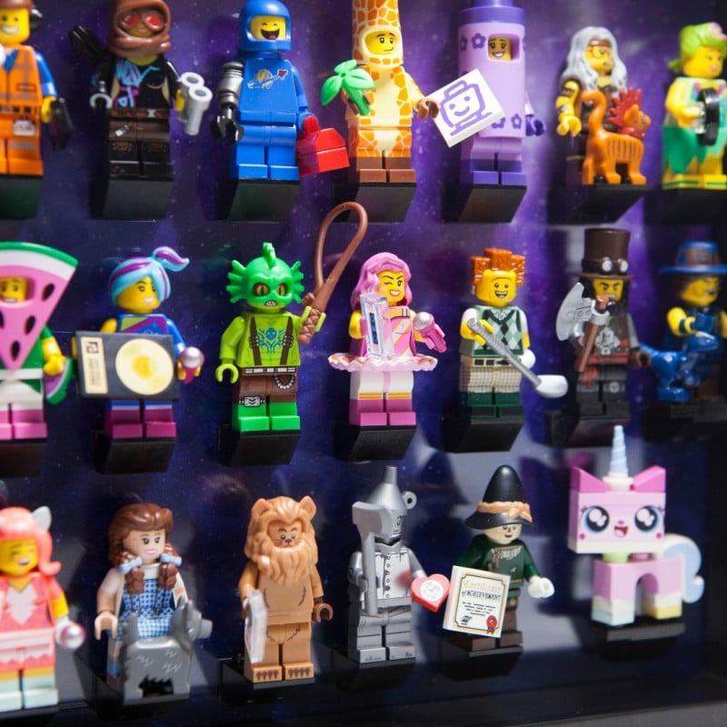 Acrylic Frame Insert For The Lego Movie 2 Minifigures