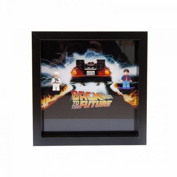 Back To The Future Frame Display Mount Acrylic Insert