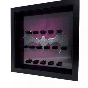 Batman Purple Acrylic Minifigure Display