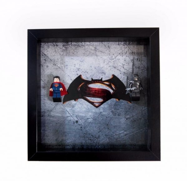 Batman vs Superman Acrylic Minifigure Display