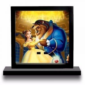 Beauty And The Beast Cartoon Acrylic Minifigure Display