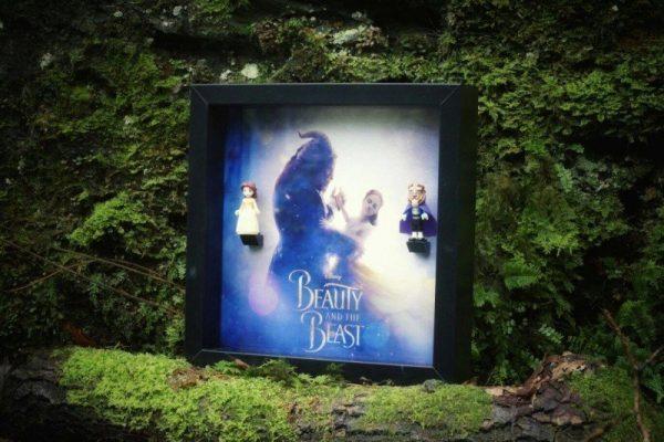 Beauty And The Beast Dance Acrylic Minifigure Display