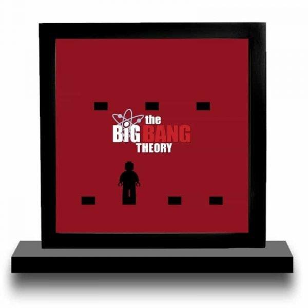 Big Bang Theory Acrylic Minifigure Display