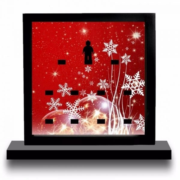 Christmas Acrylic Minifigure Display