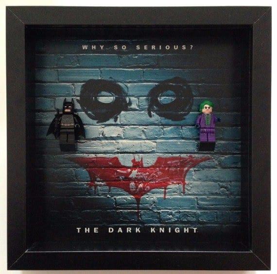 Dark Knight Acrylic Display Frame