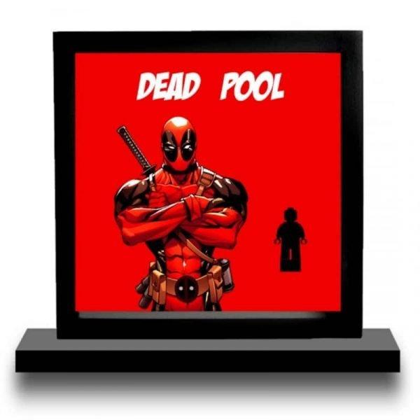 Deadpool Acrylic Minifigure Display
