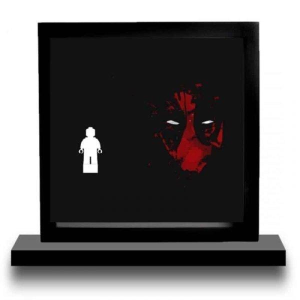 Deadpool Black Acrylic Minifigure Display