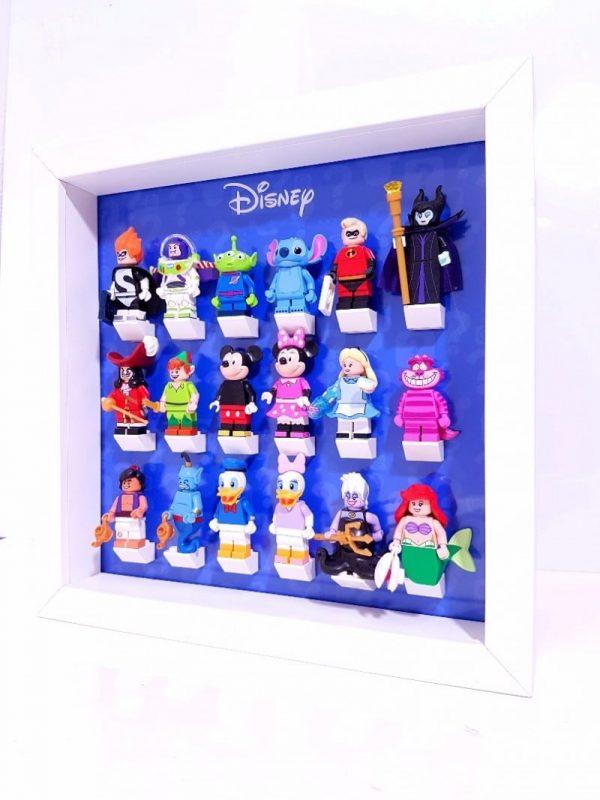 Disney Blue Acrylic Minifigure Display