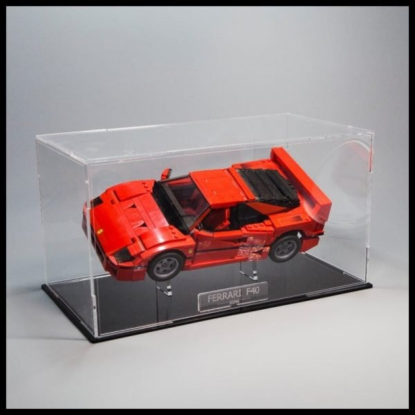 Ferrari F Acrylic Display Case With Internal Stand