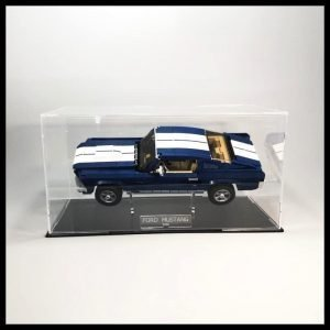 Ford Mustang Acrylic Display Case With Internal Sand