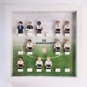German DFB PITCH Acrylic Minifigure Display